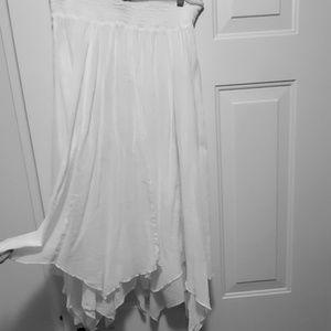 Style & Co White Maxi Skirt